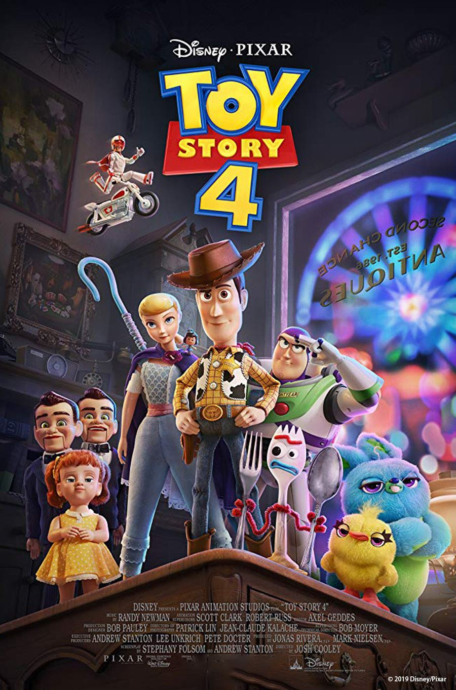 Toy Story 4 July 17